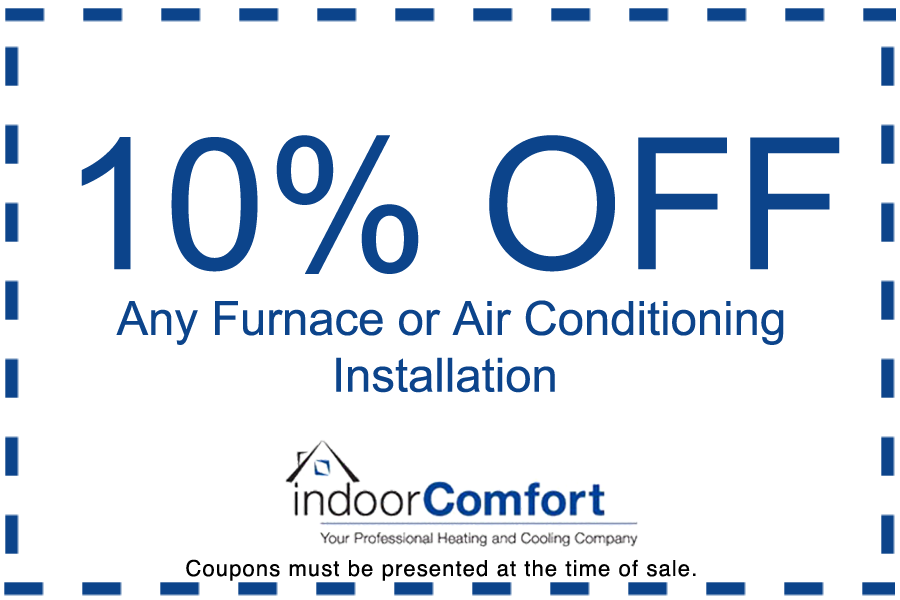 10% off furnace & ac coupon