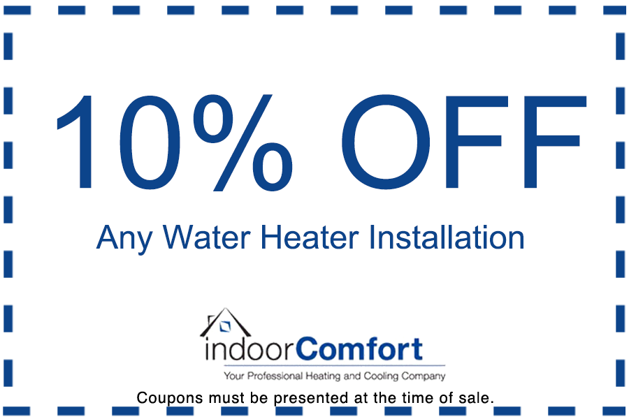 water heater coupon offer