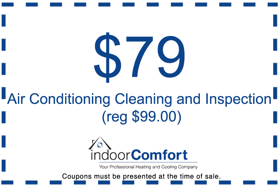 Air conditioning cleaning coupon