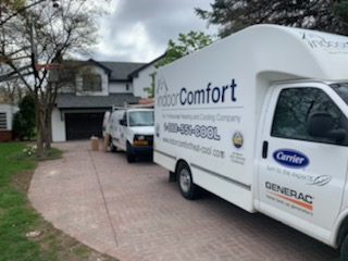 Indoor Comfort same day air conditioning service